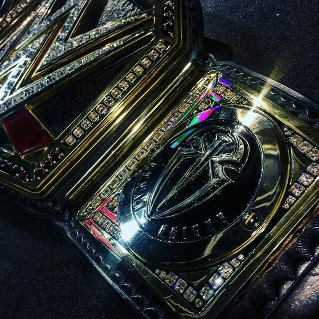 Roman Reigns Silver Sideplates On The Wwe World