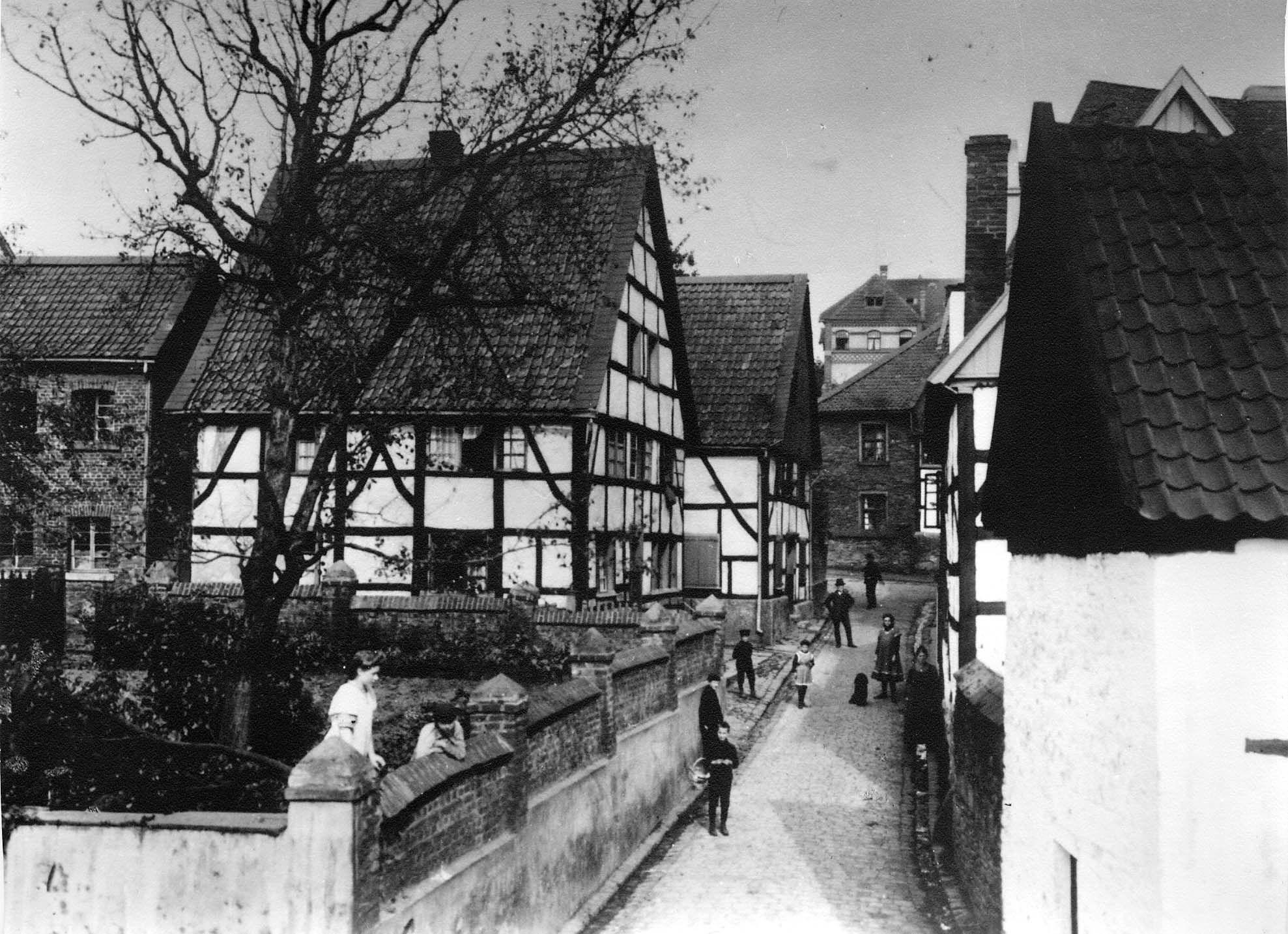 Bilsteinstraße, Herdecke, Westfalen, 30er Jahre (mit