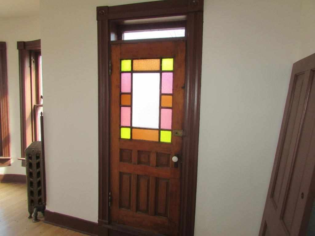 Gorgeous Woodwork Stained Glass Butlers Pantry Pocket Doorany Other Wonderful Details Detached Garage On Corner Lot