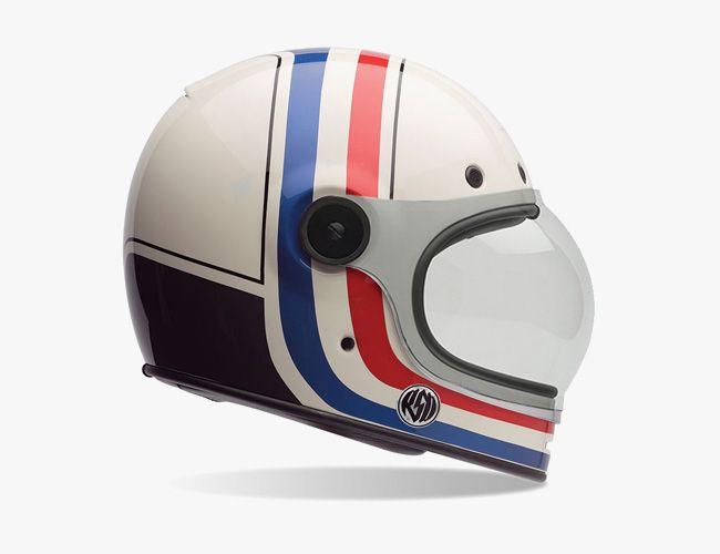 Motorcycle Helmets With Old School Looks New School Safety Cool Motorcycle Helmets Vintage Helmet Motorcycle Helmets