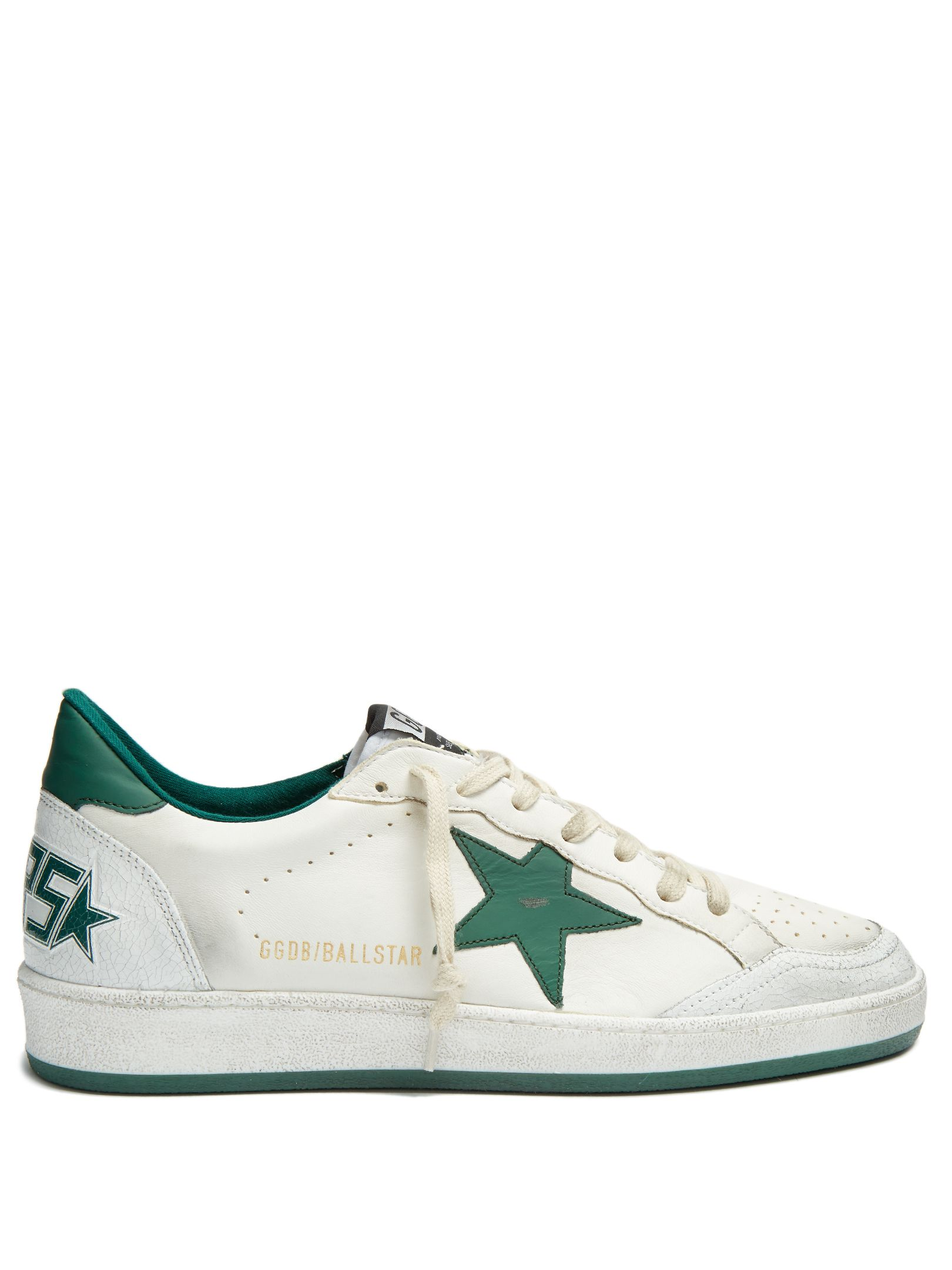 Ball Star lowtop leather trainers  Golden Goose Deluxe Brand   MATCHESFASHIONCOM