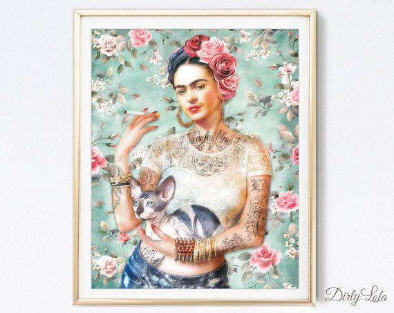 Art Print - Illustration - Portrait - Painting- Portrait - Home ...