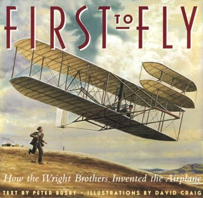 WRIGHT FLYER FIRST AIRPLANE 1903 POSTER BROTHERS ORVILLE WILBUR FLYING unframed
