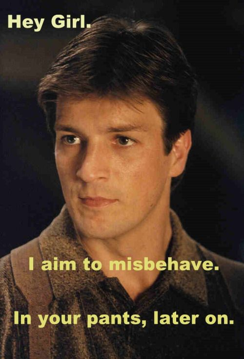 And the NUMBER ONE most popular Hey Girl Nathan Fillion of ALL TIME! •CAN-CON 2015 is pleased to announce that Trevor Quachri, of Analog Science Fiction & Fact, will be our Editor Guest of Honour this year. Book Pitches will be accepted! CAN-CON 2015 will be held in Ottawa Oct 30-Nov 1.  •http://can-con.org/cc/   Nathan Fillion has no idea that we exist. But like us he is Canadian.
