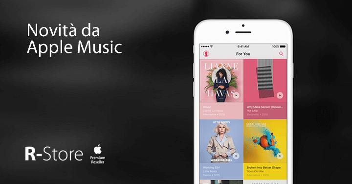 Apple Music alza il limite da 25 mila a 100 mila canzoni