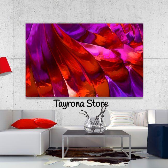 Cuadro Decorativo Tayrona Store Para Sala o Alcoba Pintura Fluida - pinturas para salas