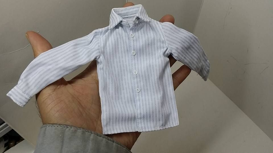 1:6 Scale Men/'s Shirt Clothing for 12/'/' Male Figure Body Toy DIY Accessories
