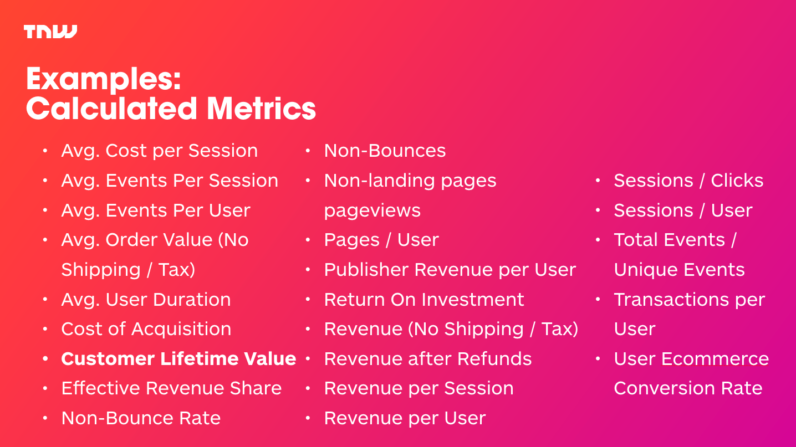 24 Examples of Calculated Metrics in Google Analytics