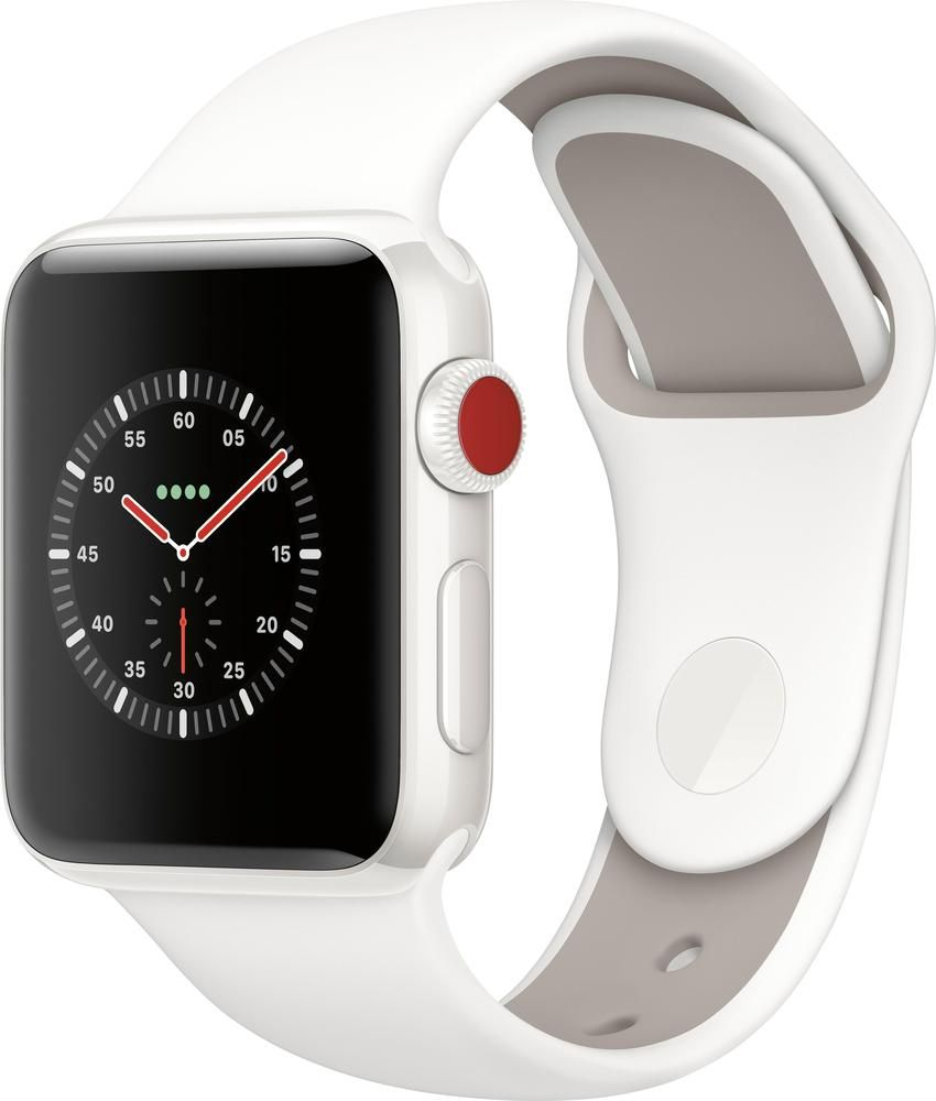 Apple Apple Watch Edition Gps Cellular 38mm White Ceramic
