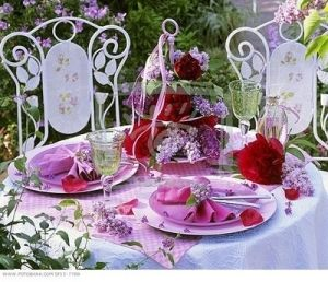 table setting by darlene