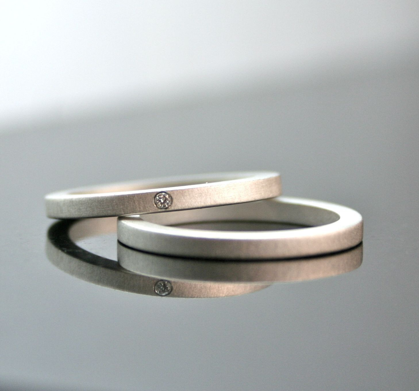 Lovely Wedding Ring Sets Bride Groom