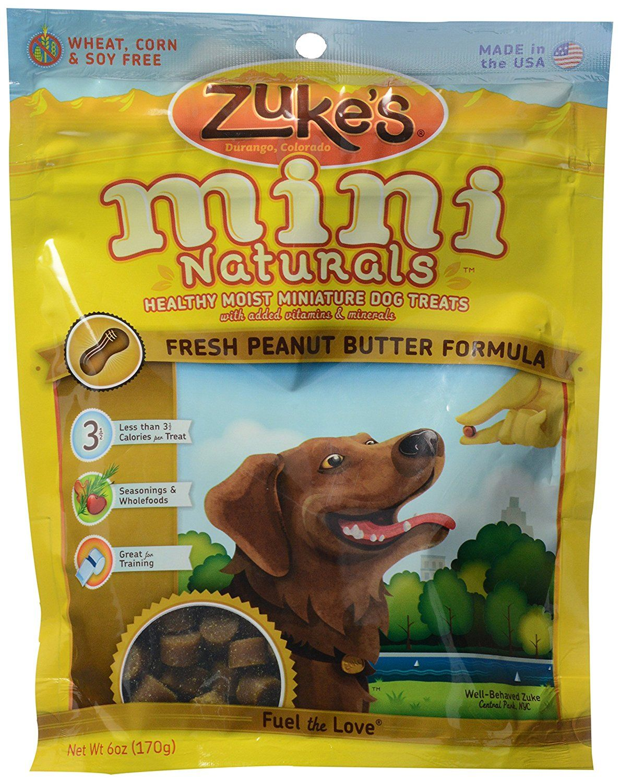 Zuke/'s Natural Training Dog Treats Mini Naturals Recipe Made in USA Duck Recipe
