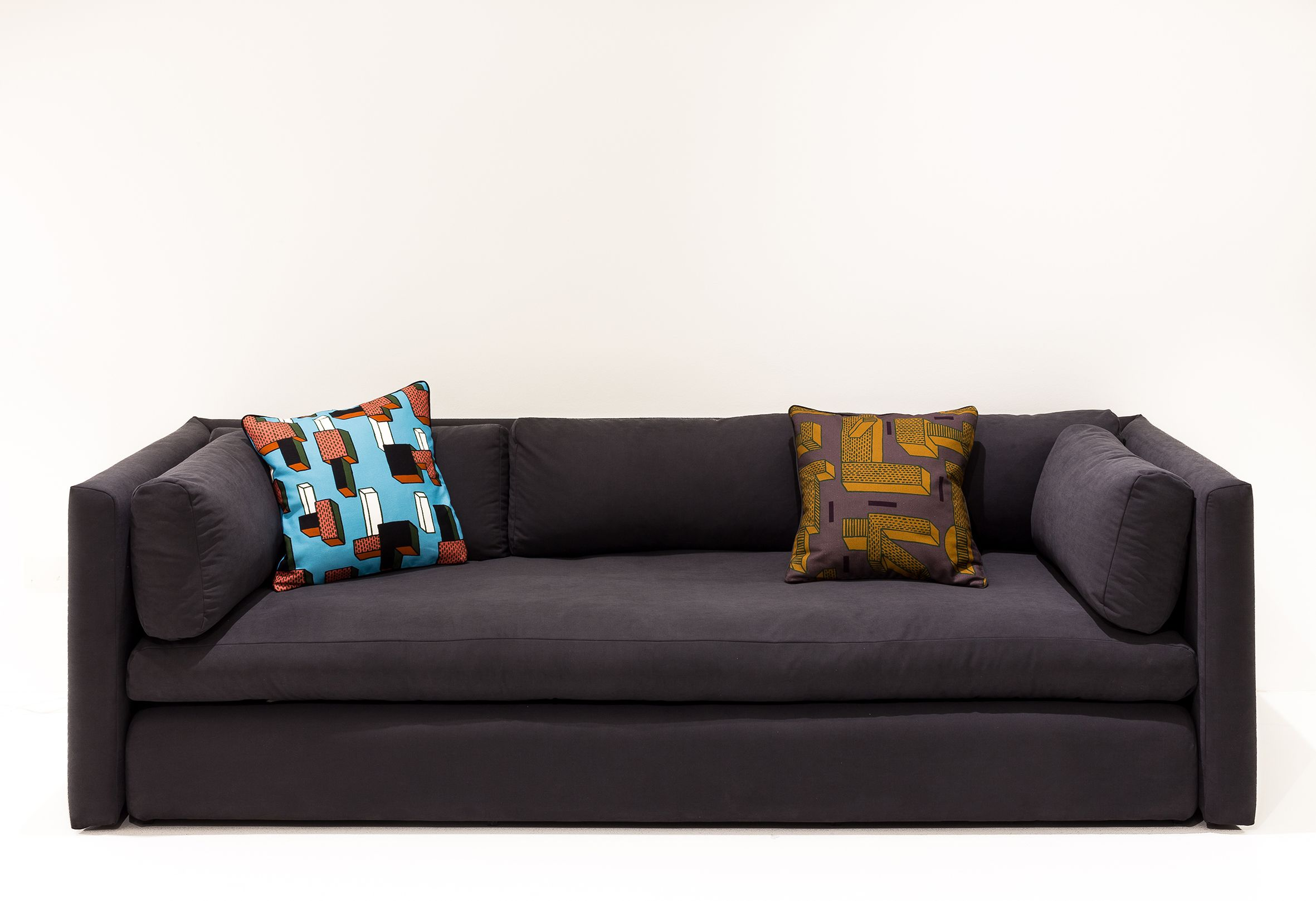 Hackney Sofa By Wrong For Hay Nathalie Du Pasquier Cushions For Wrong For Hay Seat
