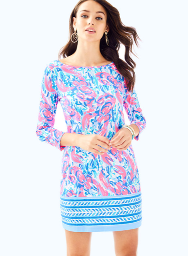 b1bfcb03a8b373 Lilly Pulitzer Marlowe Boatneck T-Shirt Dress - Cracked Up in 2019 ...