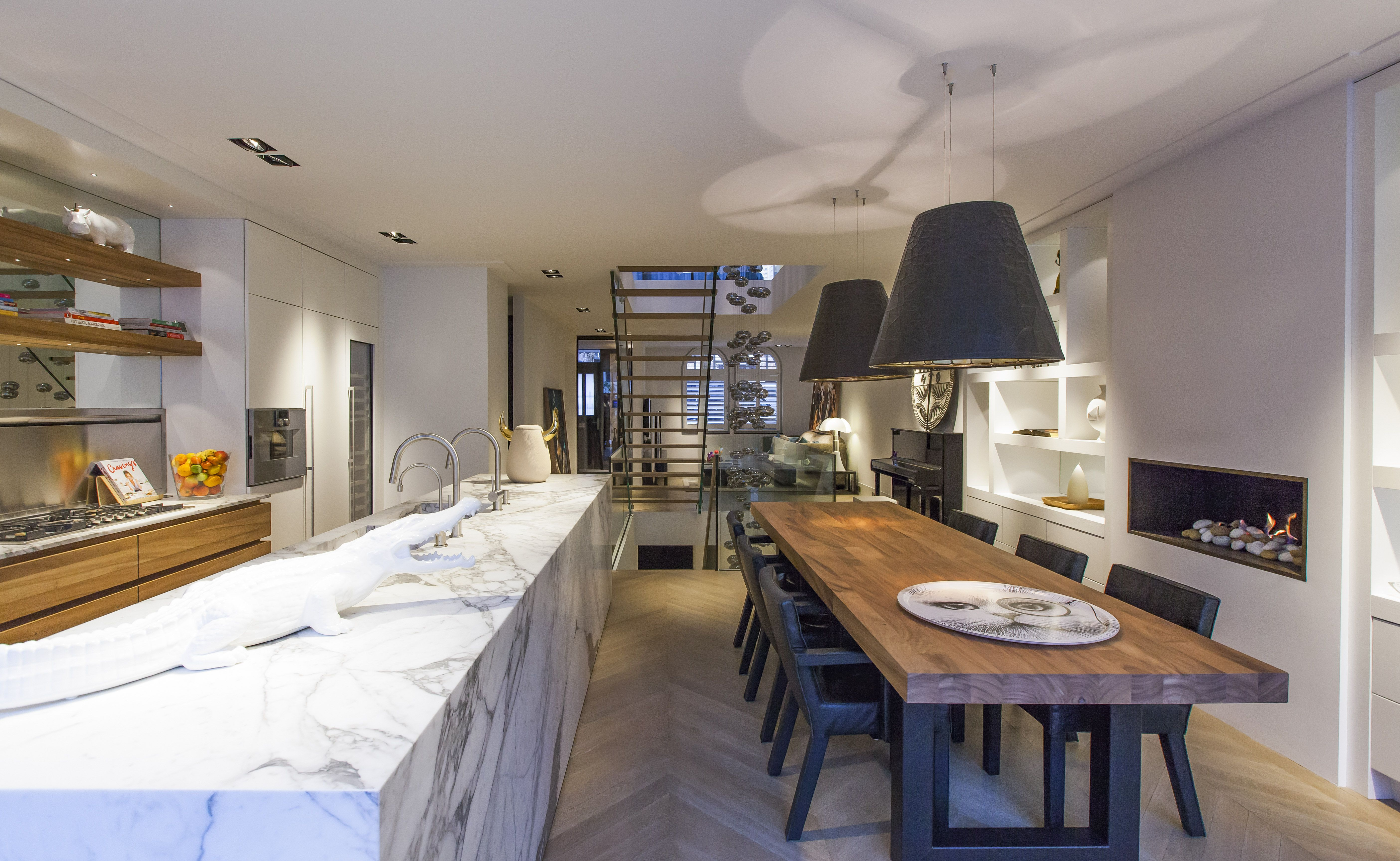 Kitchen Designstudio Jan Des Bouvrie#kitchen #design Impressive Marble Kitchen Designs Decorating Inspiration