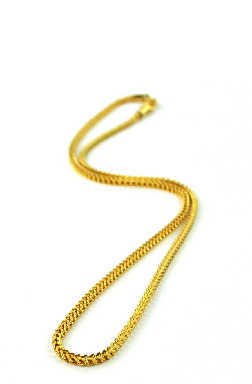 d138a647be359 2.5mm Franco Chain | Acessorize | Gold chains for men, Chains for ...