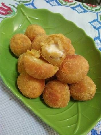 Resep Bola Ubi Keju Lumer Oleh Litanuryani Resep Resep Makanan Makanan Makanan Dan Minuman