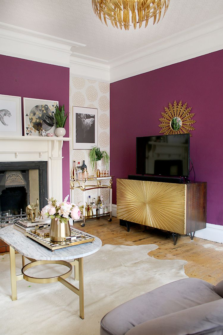 You can make the living room feel small and cluttered, but you can a. Let There Be Light! Updates in the Living Room   Glam ...