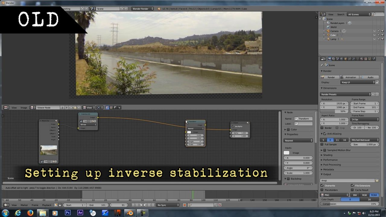 New Compositor Features Feature Settings Olds