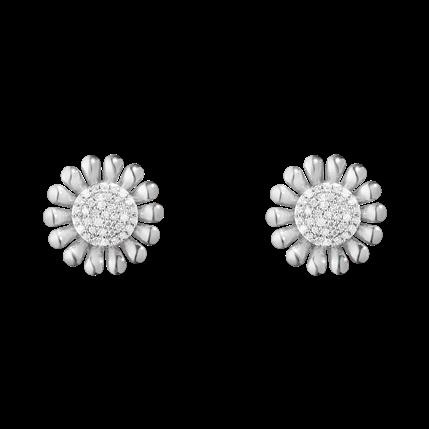 1d2cba3dc1372 Georg Jensen Sunflower earrings | GEORG JENSEN | Sterling silver ...