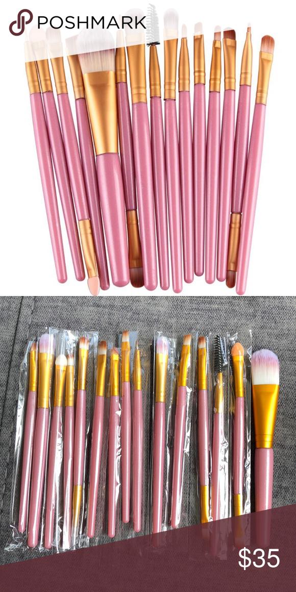 15 Premium Make Up Brush Set Boutique Makeup brush set