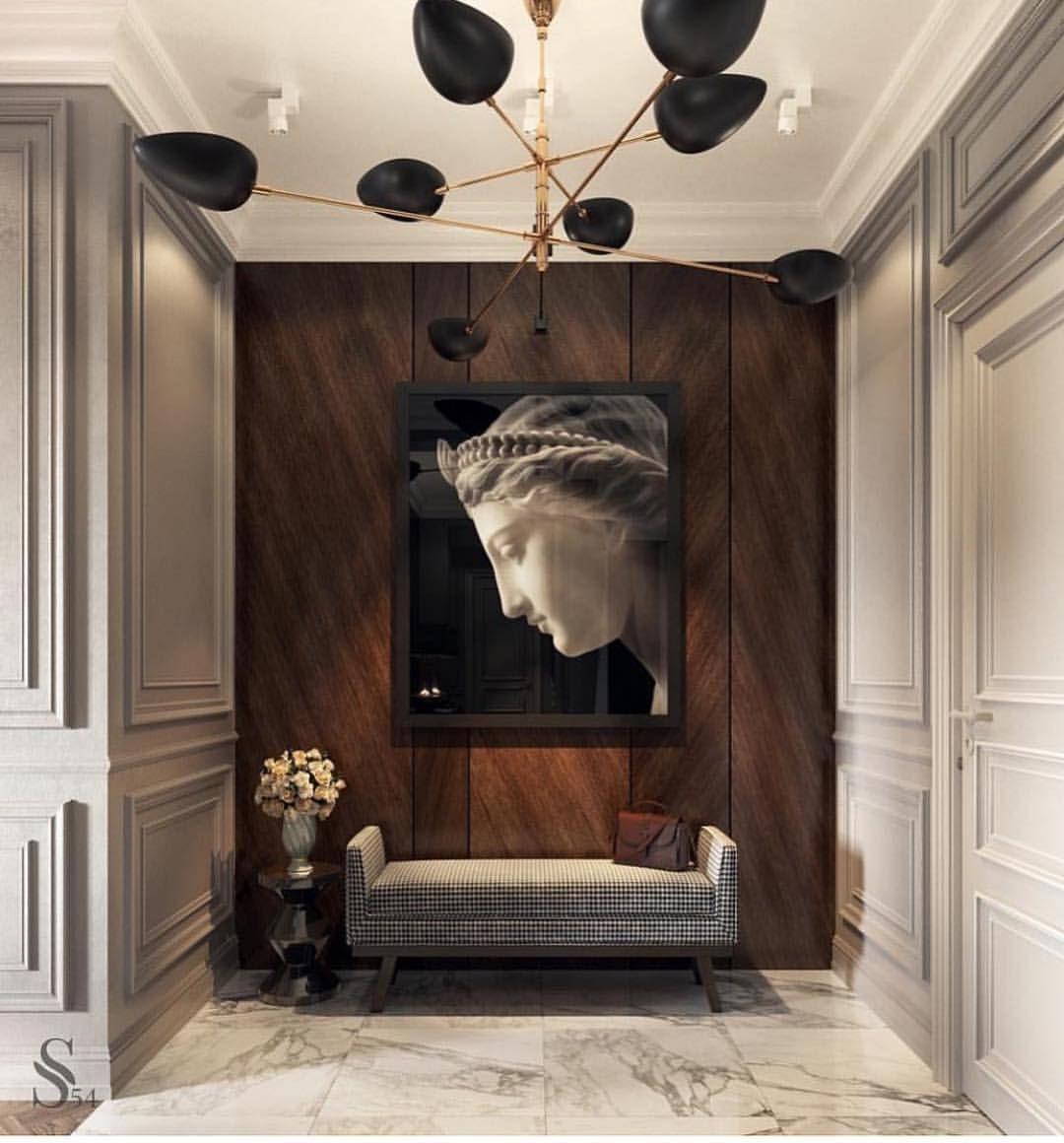 Hallway love. @studia_54 • • • • • • • #interior #interiordesign #architecture #interiorinspo #interiorinspiration #interiors #interieur… #picturewallideas