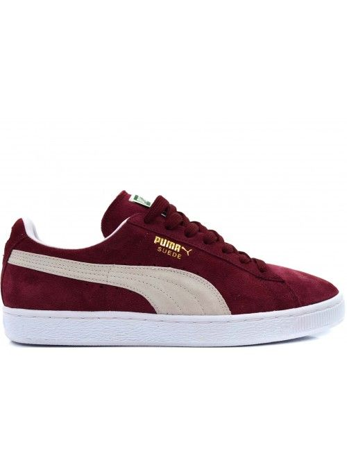 PUMA CLASSIC SUEDE HEREN SNEAKERS - BORDEAUX | Sneakers ...