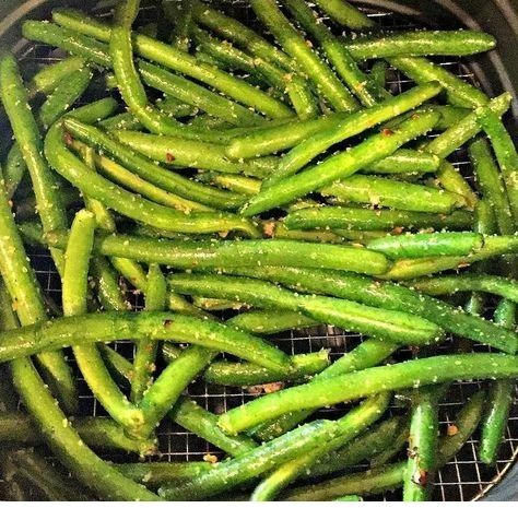 Air Fryer Green Beans | Air Fryer Recipes #airfryerrecipes