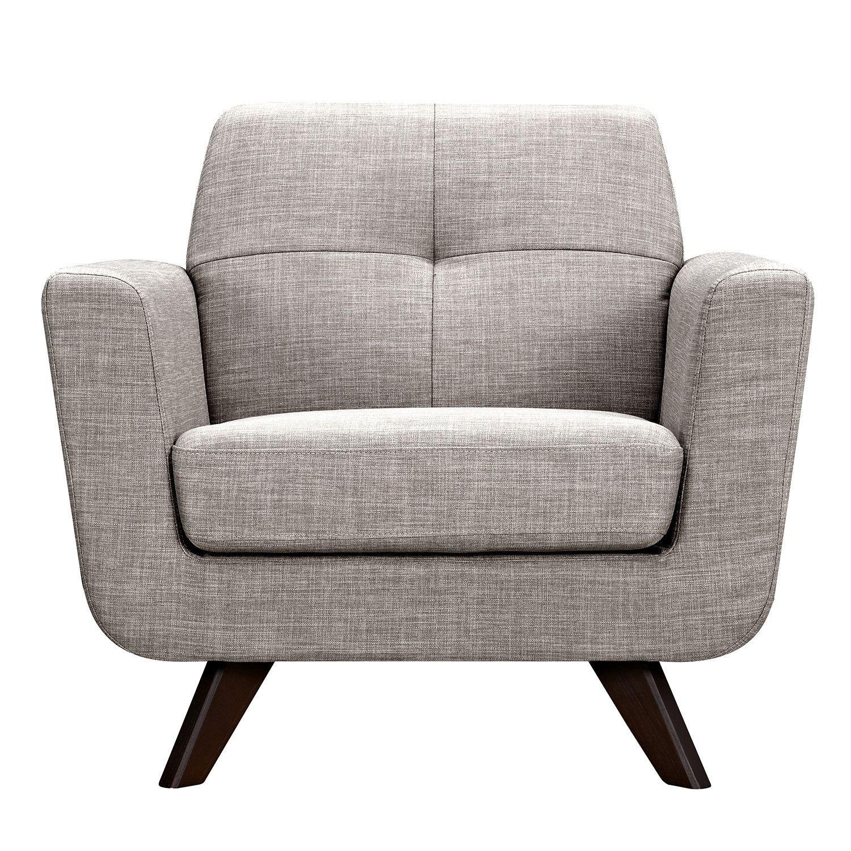 Merveilleux Nye Koncept Modern Aluminium Gray Dania Armchair   Walnut   223377 B