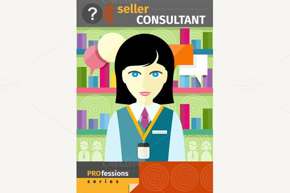 Seller Consultant by robuart on Creative Market