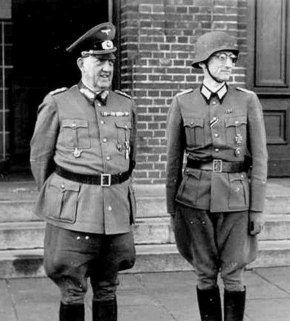 ww2 german Army General in uniform 1940s | German army ...