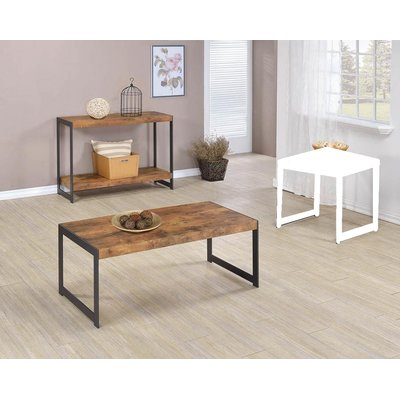 Best Williston Forge Cohan 2 Piece Coffee Table Set Coffee 400 x 300