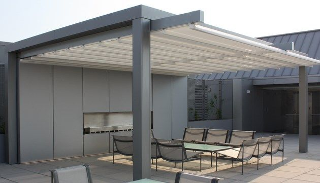 Retractable Pergola Canopy