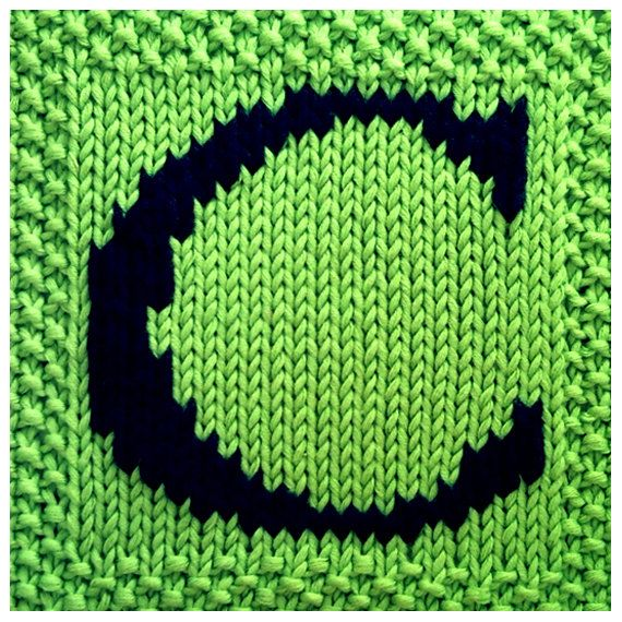 PDF Knitting pattern capital letter C afghan / by FionaKelly, $2.00 ...