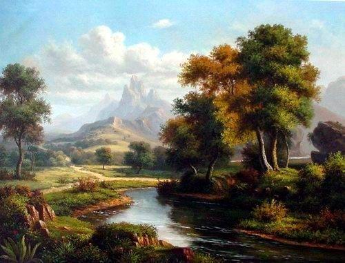 An Oil Painting I Must Attempt Tablolar