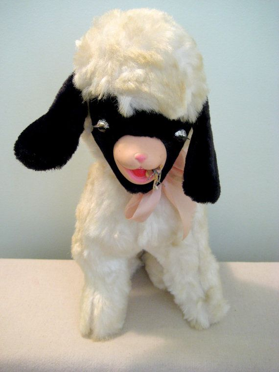 Vintage Gund Creation Lamb for sale on Etsy.