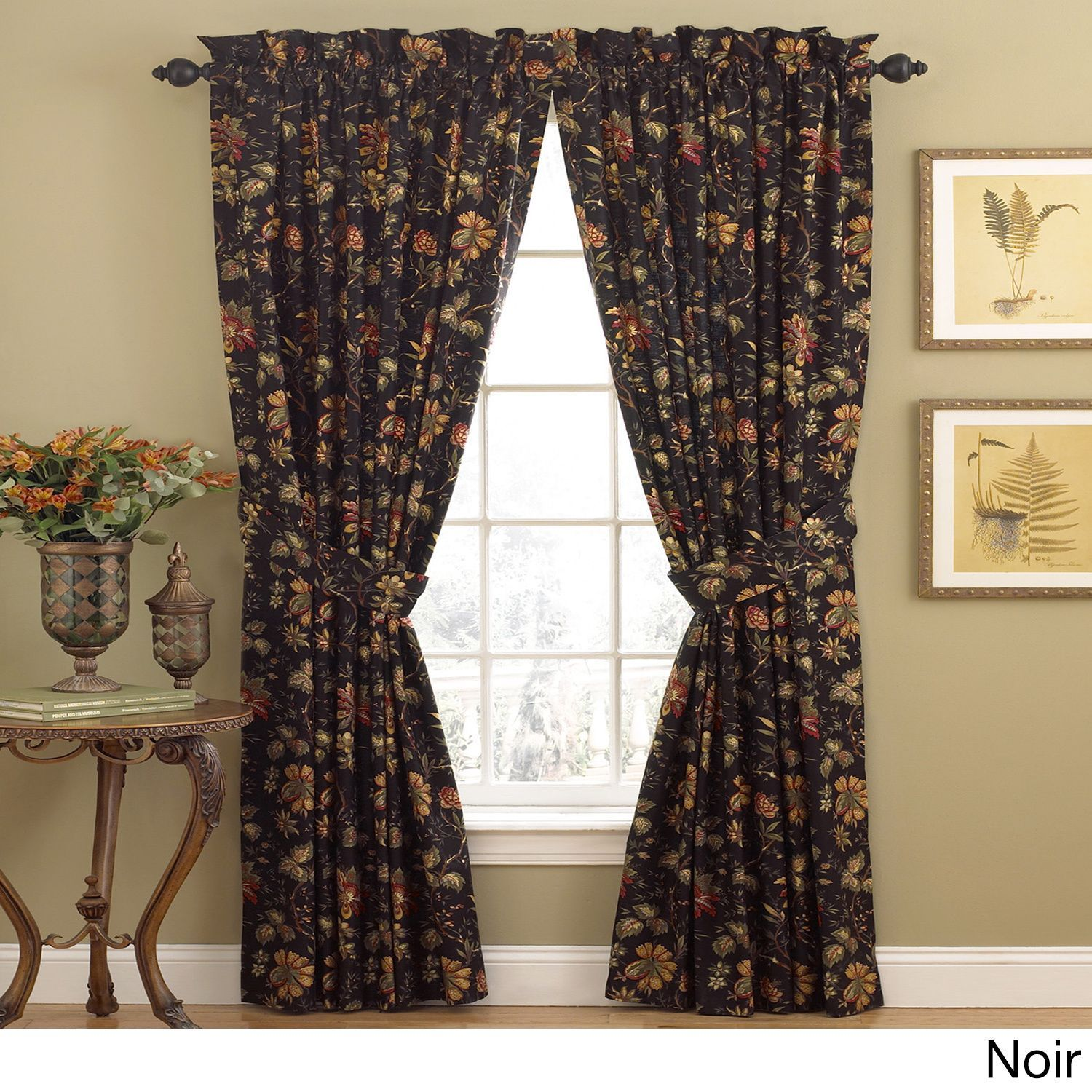 Waverly Felicite Window Panel With A Tie Back 50x84 Panel
