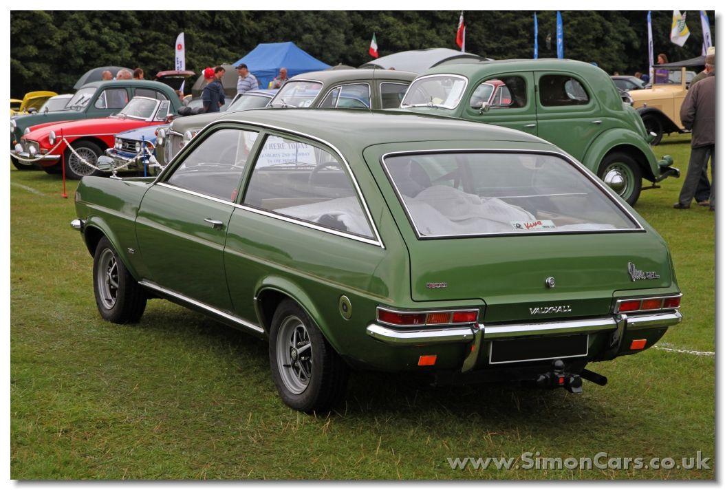 Vauxhall Viva 1972 1800 Estate Rear Vauxhall Viva 1972 1800