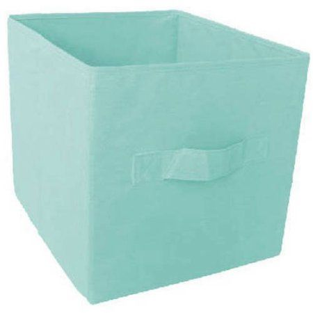 Mainstays Collapsible Fabric Storage Cube Set Of 2 Multiple Colors 12 8 X
