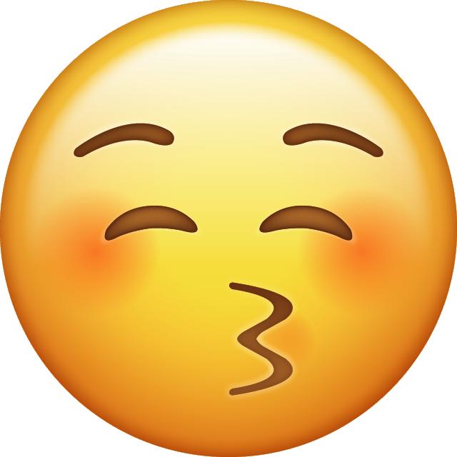 Download Kiss Emoji Icon Emojis de iphone, Emoticones