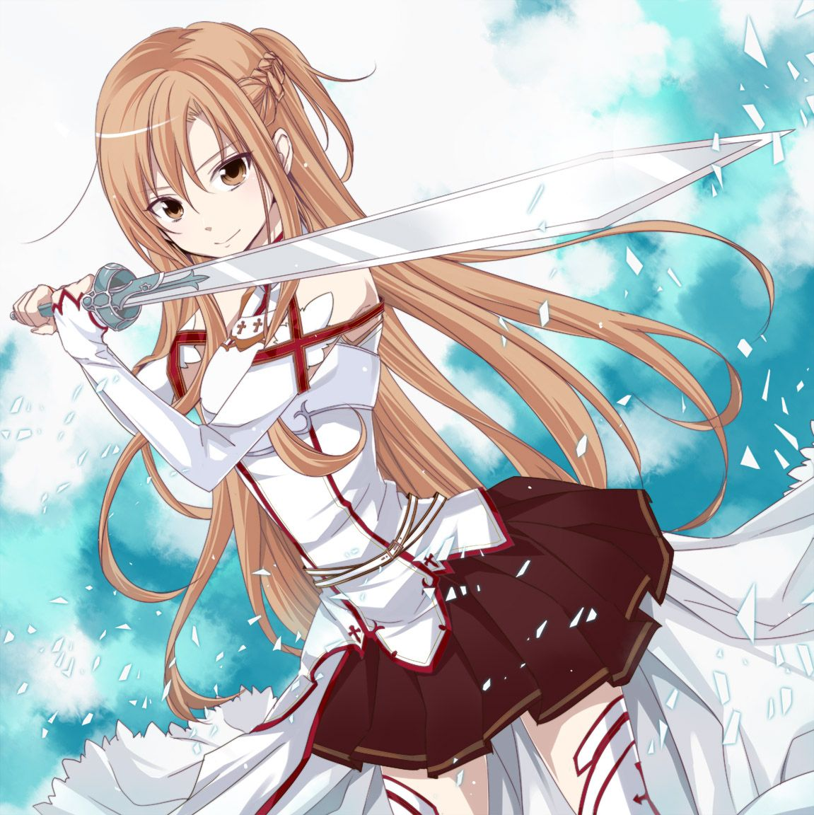 Asuna, my favorite female anime character (Sword Art