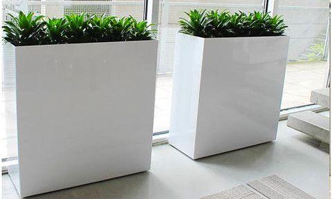 Custom Metal Planters Custom Large Plant Containers Idees Pour La Maison Jardins Maison