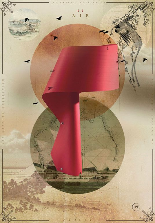 LZF Air-M  Illustration #LZF #wood #light #design #woodtouchedbylight #Air