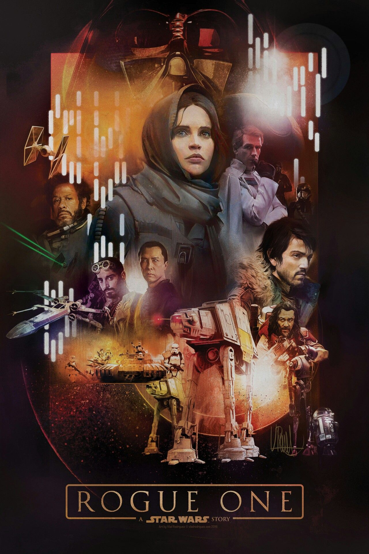 Rogue One A Star Wars Story Image By Charity Knecht Star Wars Pictures Alternative Movie Posters