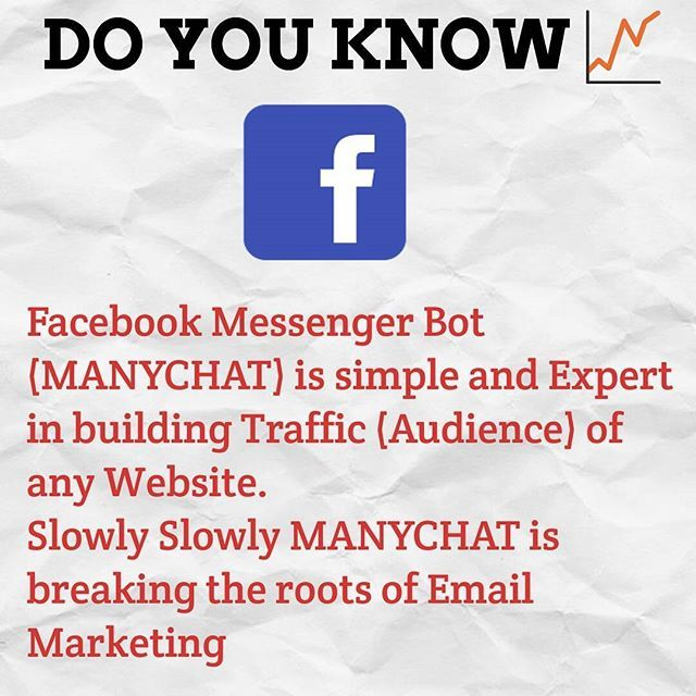 Image result for manychat infographic