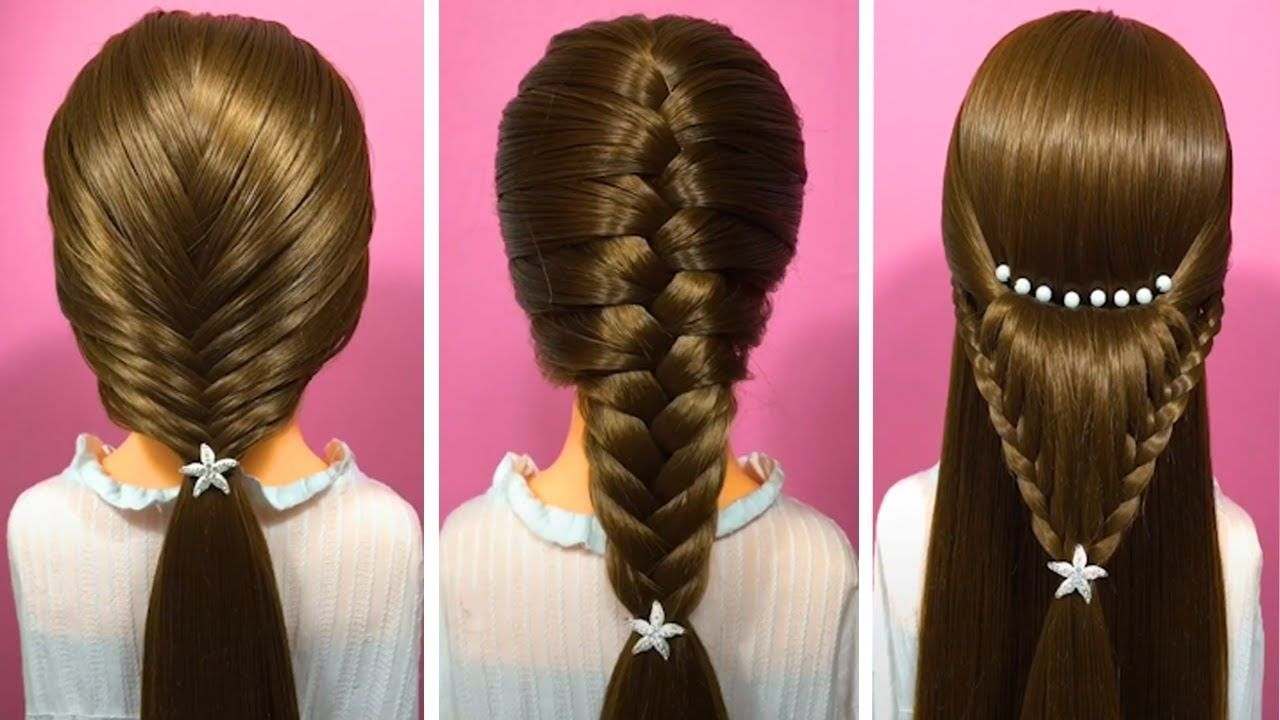 Easy Hair Style For Long Hair Top 20 Amazing Hairstyles Tutorials Compilation 2018 Part 161 Youtube Hair Styles Long Hair Styles Cool Hairstyles