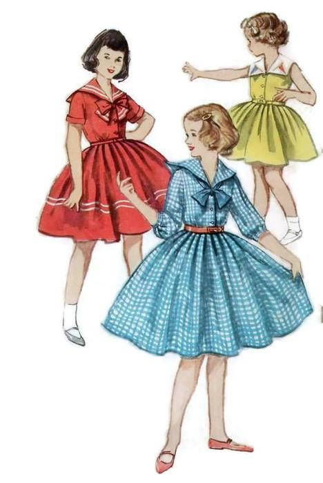 Simplicity 4951 Sewing Pattern Girl\'s Teen Holiday Party Dress ...