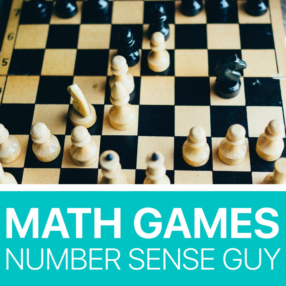Pin By Number Sense Guy On Math Games