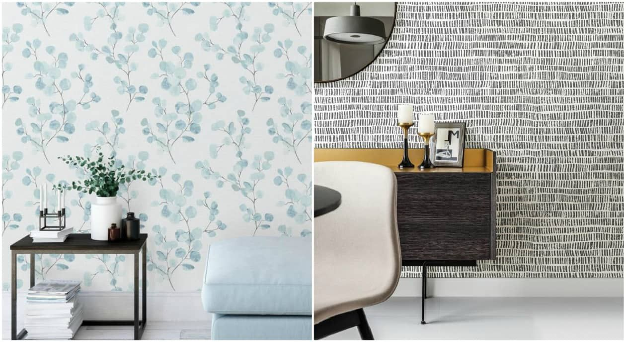 The Property Brothers Launched Peel And Stick Wallpaper And It S Time To Redecorate Peel And Stick Wallpaper Peel N Stick Wallpaper Property Brothers