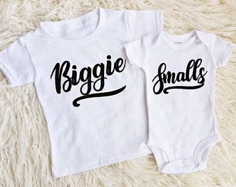 biggie smalls shirts matching brothers cousin shirts matching cousins funny matching  kids shirts trendy baby clothes modern baby cousins 669e2a5292